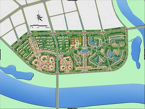 新疆阿克苏地区拜城新区控制性详细规划及城市设计