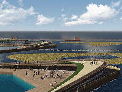 辽宁丹东东港鸭绿江口湿地观鸟园景观设计