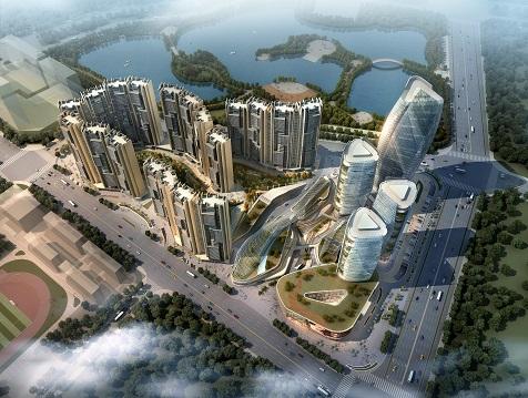 福建石狮洋内亭城市综合体项目概念规划设计