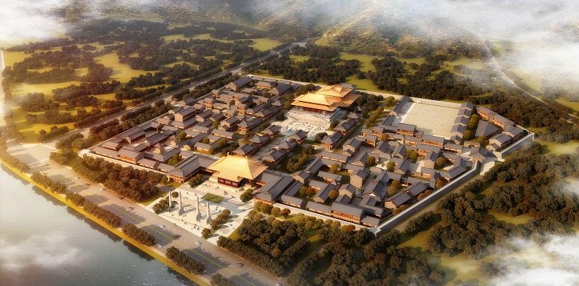 辽宁丹东大唐文化体验城概念规划设计