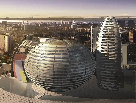 上海南阳时尚广场概念方案设计